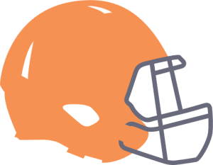 animated football helmet