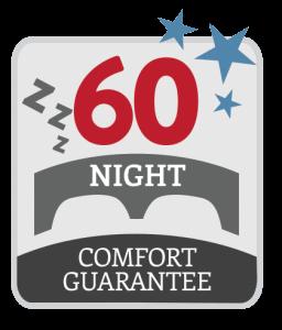 60 Night Comfort Guarantee