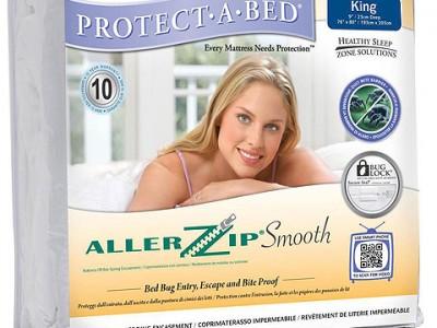 AllerZip Smooth Mattress Encasement