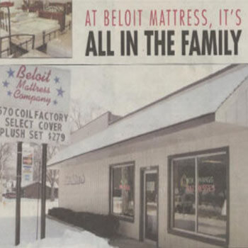A family run and operated mattress company