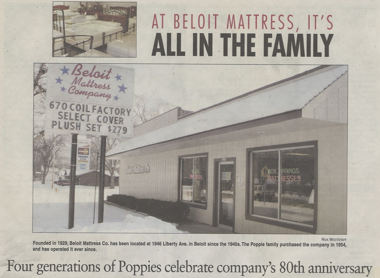 Beloit Mattress Company is one of the best wholesale mattress distributors in the Midwest