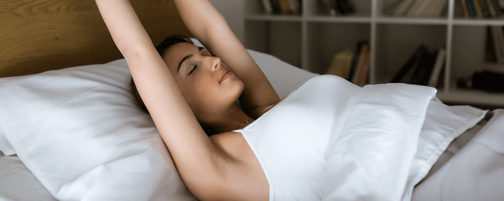 Sleeping on a pillow top mattress pad can improve the quality of your sleep