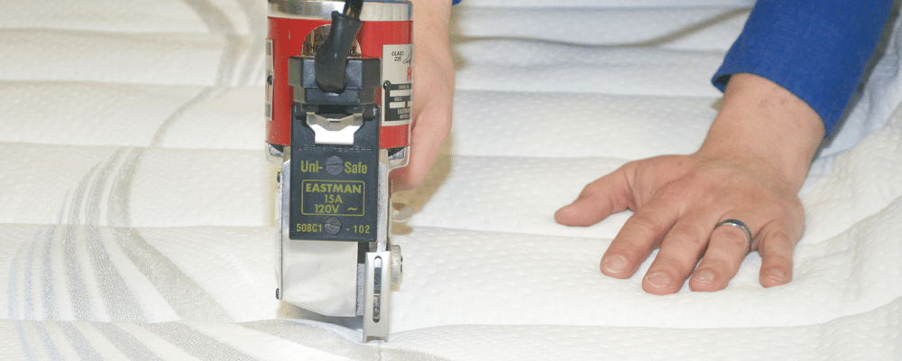 Bulk mattresses from Beloit Mattress Company are made hand-crafted, with a quality that lasts for years to come