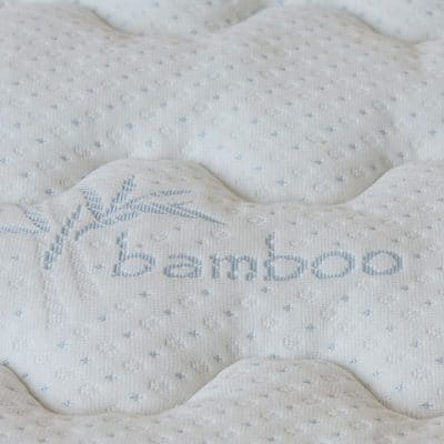 DormTopper College Mattress Topper Bamboo Cover Layer.
