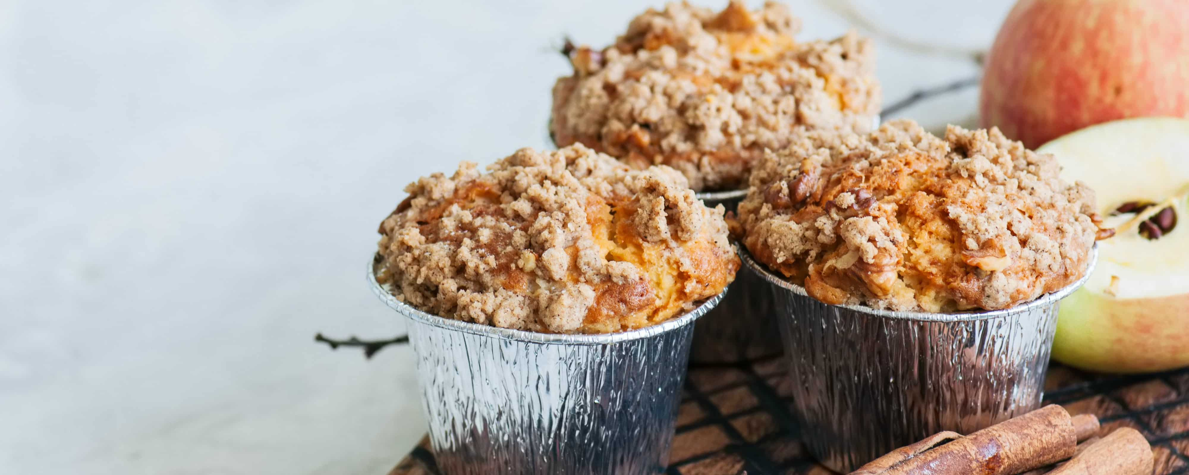 Fall Flavors Breakfast Muffin DormTopper