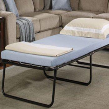 custom mattress topper for a roll a way bed