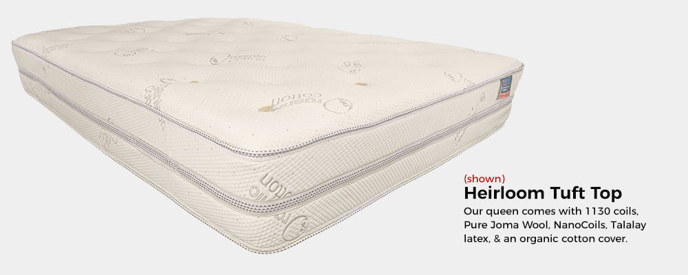 Heirloom Tuft Top Mattress by The Beloit Mattress Company