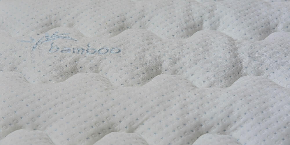 Bamboo Mattress close up image