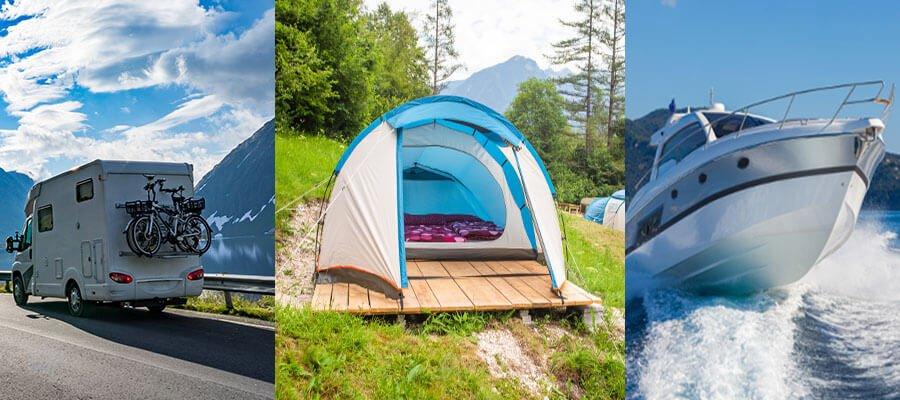 RV-Tent-Boat customs