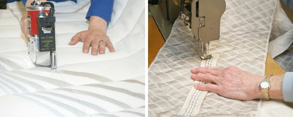 Filling a bulk Beloit Mattress order at the wholesale mattress warehouse