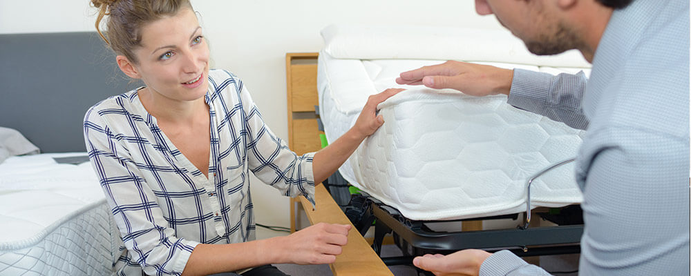 changing mattress base