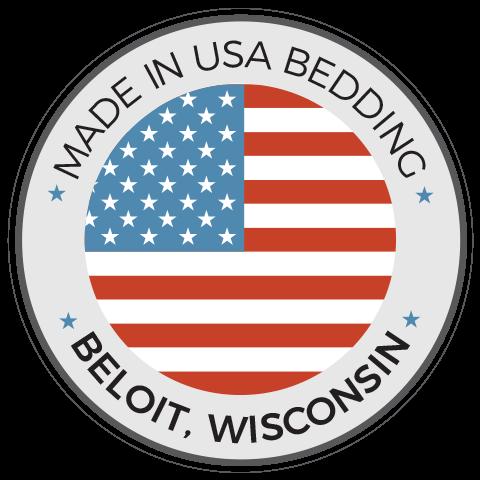 Made In USA Bedding - Beloit Wisconsin