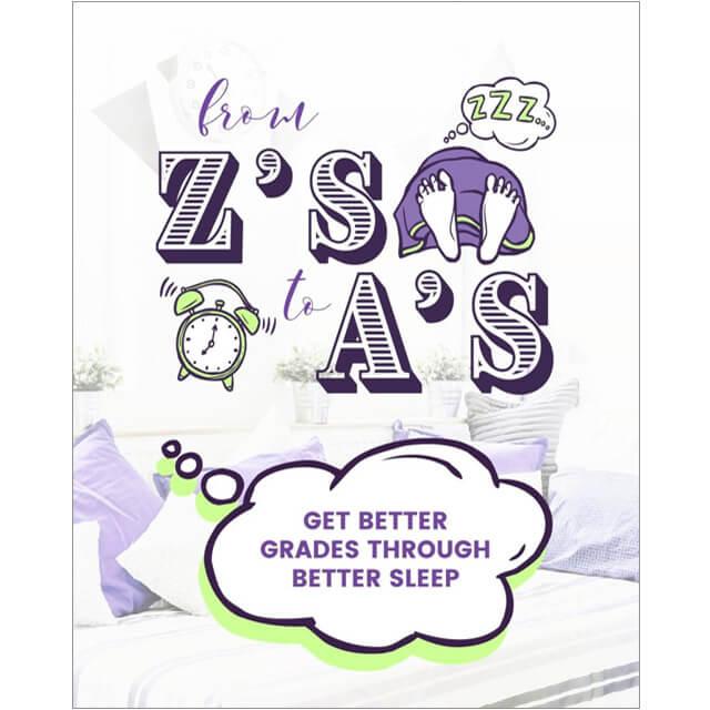 From Z's to A's - Get Better Grades Through Better Sleep